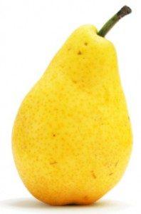 Propiedades saciantes de la pera